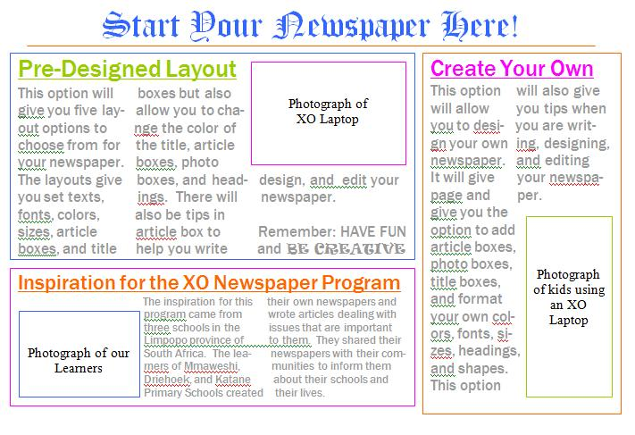 Create Your Own Newspapers And Magazines Seeta - design your own newspaper